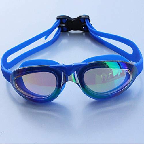Sxuefang Lunettes de Natation Adultes Grand Format, imperméables - Protection UV - HD - Professionnel
