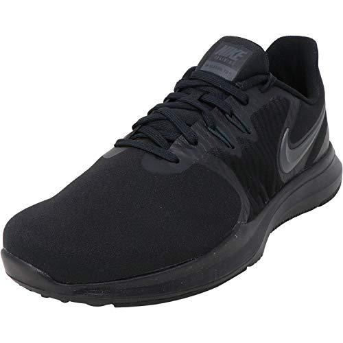 Nike Womens W in-Season TR 8 Wide, Black/Black, Cross Training Shoes, Size 6