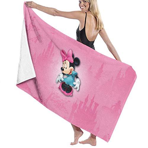 Minnie Cartoon Mouse Toalla de playa Toalla de baño Deportes de secado rápido absorbente ligero toalla manta natación playa fitness baño