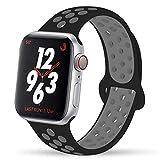 VIKATech Ersatz Armbänder Für Apple Watch Armband 44mm 42mm, Weiche Silikon Ersatz Armbänder für...
