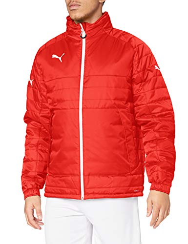 Puma Stadium Jacket Veste d'hiver Homme Puma Red-White FR : XL (Taille Fabricant : XL)