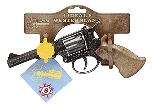 Schrödel- Pistolet Jouet Scorpion Antique 8-Coups, 1068271, Taille Unique