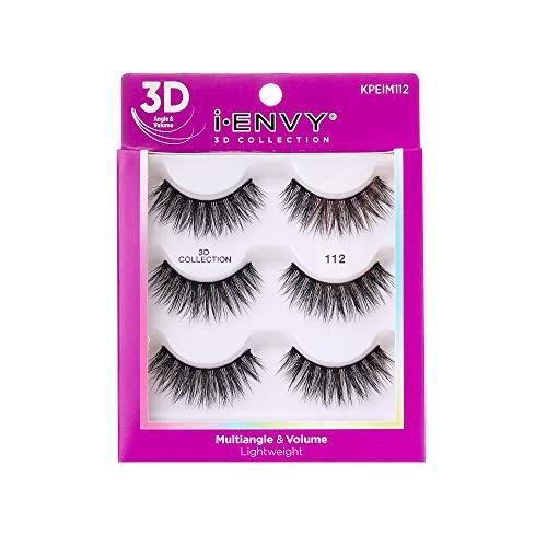 KISS i Envy 3D Collection Eyelashes Multiangle & Volume (KPEIM112)