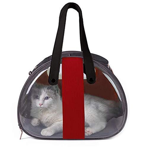 Transportador De Mascotas Bolsas Transparentes Space Capsule para Gatos, Perros, Conejos con...