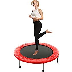 top rated Baranu Mini Training Trampoline for Adults and Kids – Indoor Fitness Trampoline… 2021