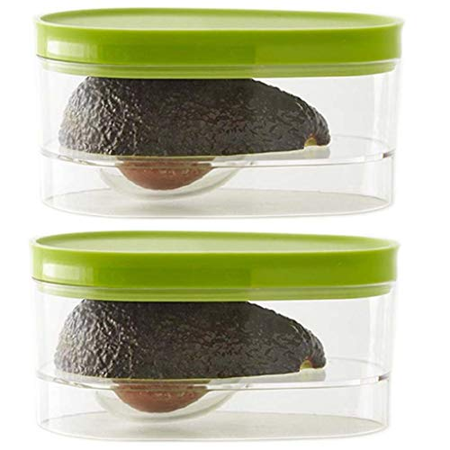 Avocado Keeper/Holder/Storage to Keep Your Avocados Fresh for Days (2 Pack)