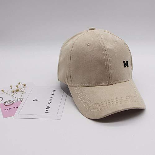 Fnito Baseballmütze Frauen M Logo Casual Baseball Cap Papa Hut DeCap Pink Black Lady OVO Hüte Snapback Cap Trucker Cap Männer