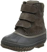 Sorel - Youth Cheyanne II Strap Waterproof Insulated Winter Boot for Kids, Major, Coal, 11 M US