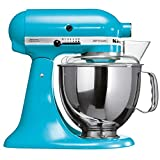 Batedeira Stand Mixer Artisan KitchenAid KEA33CW Crystal Blue 110V