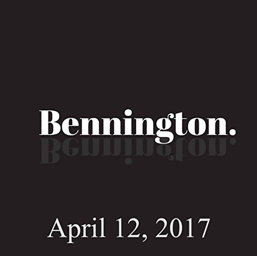 Bennington, Ian Fidance, April 12, 2017 audiobook cover art