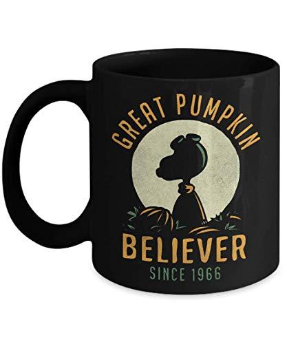 Great Pumpkin Believer Since 1966 coffee mug cup-fall pumpkin spice mugs season Halloween-Pumpkin Believer drinkware-snoopy Halloween mug