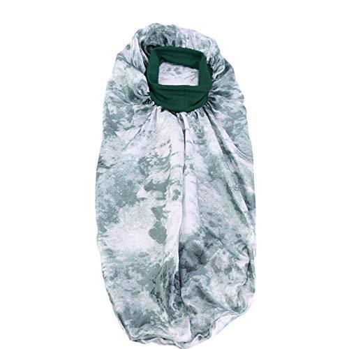 Bilibony Schlafmütze, 2 STÜCKE Hohe Zange Krawatte Farbstofffarbe Ding Changfa Nightcap Elastic Wide BRANTED Ihre Haarkappe (Color : 4#, Size : One Size)