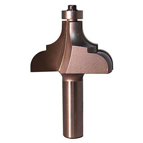 Whiteside Router Bits 3282 Cove and Bead Bit with 2-Inch Large Diameter and 1-3/16-Inch Cutting Length