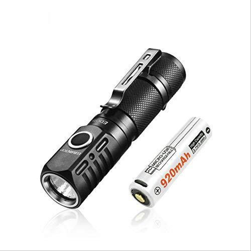 BAJIE Linterna Linterna 800 lúmenes XP-L Led Mini Linterna con luz de Cola magnética, batería AA / 14500 Protección Ip68 Edc05 China con batería 14500