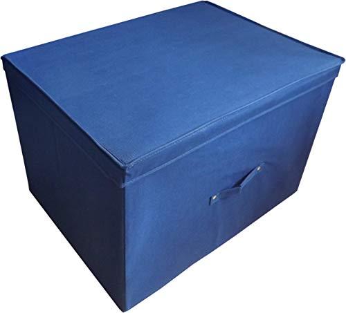 Neusu Faltbare Aufbewahrungsbox (Super-Jumbo XXL (1-er Pack), Blau)