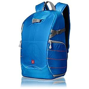 41tIeQ2THIL. SS300  - AmazonBasics - Mochila para cámara, para excursionistas - Azul