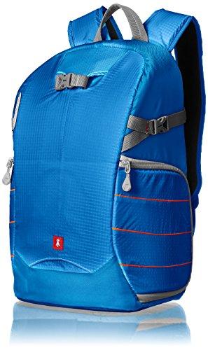 AmazonBasics - Kamera-Rucksack, Trekking-Ausrüstung, Blau
