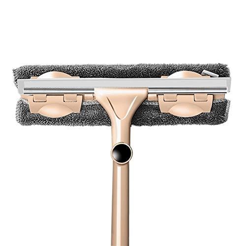 Limpiaparabrisas Vidrio herramienta de limpieza - Varilla telescópica de largo mango giratorio...