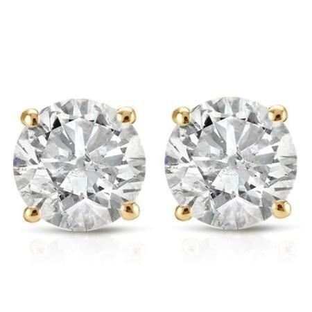 0.05 ctw PARIKHS Round Cut Black Diamond Solitaire Pendant AAA Quality White Gold