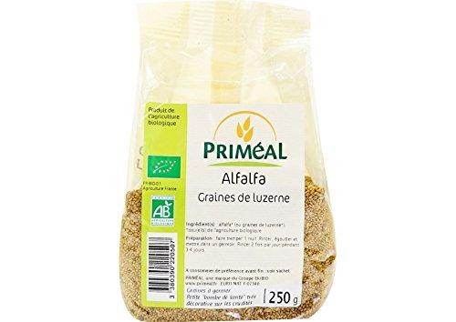 Priméal Alfafa Bio France 250g 1 Unité