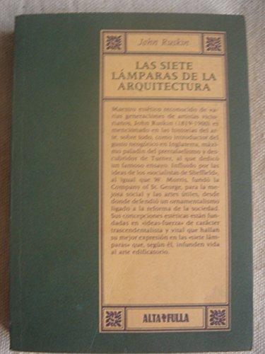 Las siete lamparas de la arquitectua