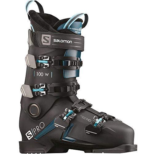 SALOMON S/Pro 100 W Damen-Skischuhe L408757 Black/Blue/Scuba Gr. 26/26.5