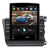 GOLOFEA Coche Sat, alertas de cámaras de Velocidad y actualizaciones de Asistencia de POI Lane a través de WiFi, adecuados para Honda Civic (2012-2015)