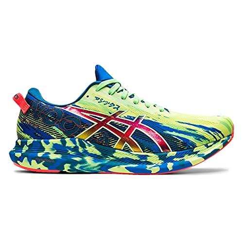 ASICS Noosa Tri 13, Zapatillas de Running Hombre, Glow Yellow Bright Lime, 42.5 EU