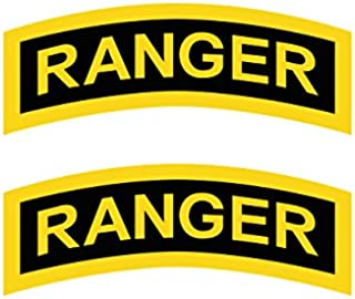 Two Pack United States Army Rangers Sticker FA Graphix Decal Self Adhesive Vinyl elite infantry unit