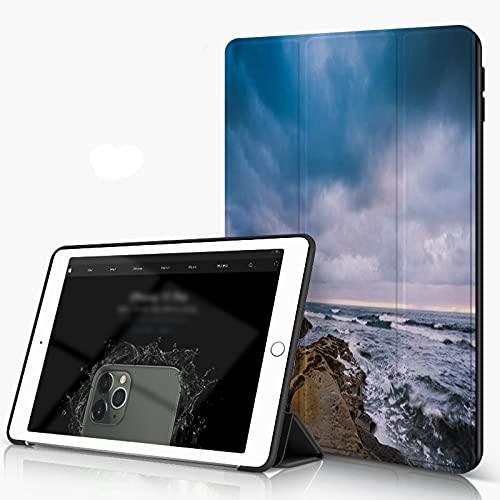 She Charm Carcasa para iPad 10.2 Inch, iPad Air 7.ª Generación,La Jolla Shore,Incluye Soporte magnético y Funda para Dormir/Despertar
