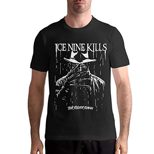 Ice Nine Kills Shirt Men T-Shirt Casual Classic Short Sleeve Tops L Black