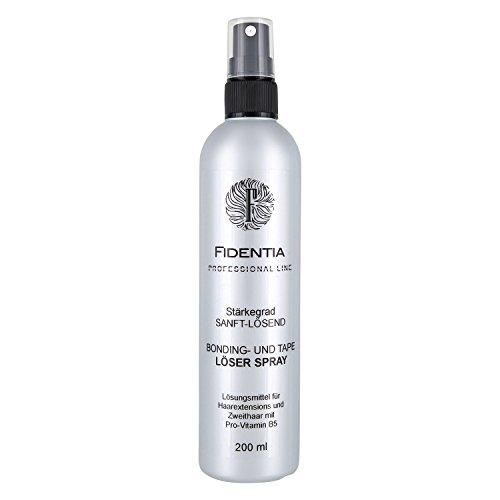 Fidentia Bondinglöser und Tape Löser Spray für Hair Extensions, Perücken und Haarteilen 200ml - Made in Germany