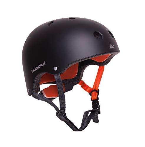 HUDORA 84103 - Skateboard-Helm, Scooter-Helm anthrazit, Gr. 51-55, Skate Helm,...