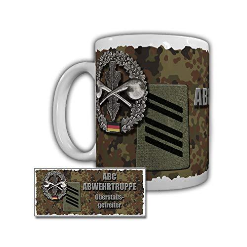 Tasse ABC Abwehrtruppe Oberstabsgefreiter Wasseraufbereitung #29349