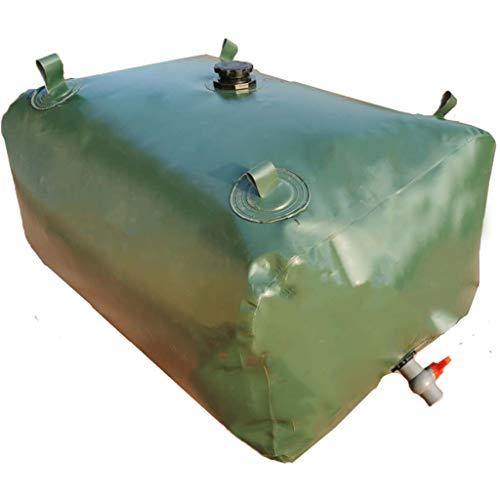 Tanque de Agua Portátil de PVC de Gran Capacidad, Contenedor de Almacenamiento...