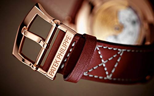 Patek Philippe Complications Rose Gold 5524R-001 with Brown Sunburst dial