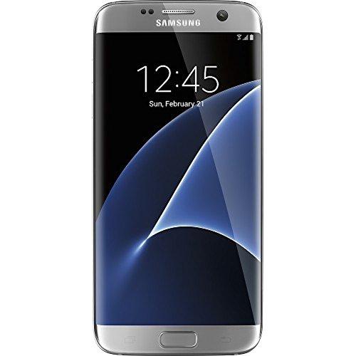 Samsung S7 EDGE G935V 32GB, Verizon/GSM Unlocked, Silver Titanium (Renewed)