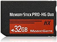 High Speed Memory Stick Pro-HG Duo 32GB (HX) PSP(全バージョン)/カメラメモリーカード.