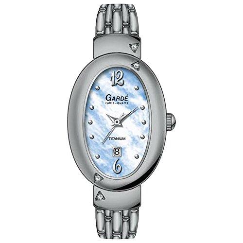 Garde da donna orologio da polso elegante analogico di titanio bracciale...
