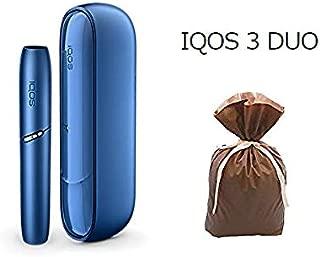 IQOS3 DUO アイコスキット 新型 ステラブルー 充電短縮 2本連続可 【ギフトラッピング済/未登録/国内正規品】