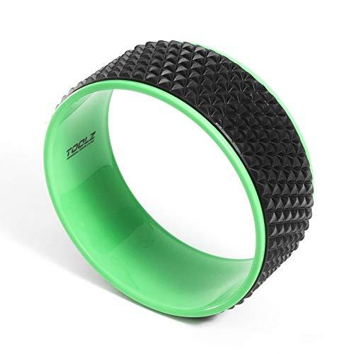 TOOLZ Yoga Ring - Yoga Rad zur Unterstützung von Asanas - Rutschfestes Pilates Rad