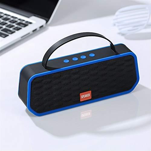 Kaper Go Blau Bluetooth 5.0 drahtlose Bluetooth-Lautsprecher tragbare Stereo-Lautsprecher Außenlautsprecherunterstützungs-TF-Karte FM-Freisprecheinrichtung