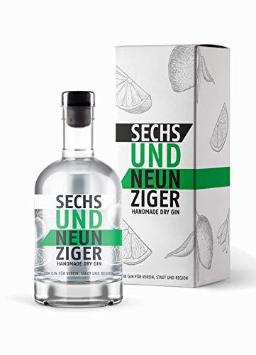 Sechsundneunziger Gin mit Geschenkverpackung - Handmade Dry Gin - Hannover Gin (1 x 0,5l)