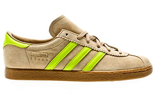 adidas Originals Stadt, st Pale Nude-solar Yellow-Gum, 9,5
