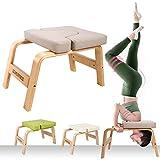 CCLIFE Banco de Yoga con reposacabezas Silla de Inversión de Yoga Banco Soporte para la Cabeza Taburete de Yoga, Color:DYGST001A0000att