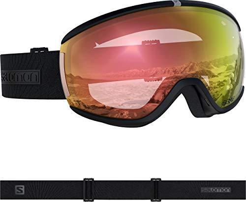 SALOMON Damen Goggles iVY Photo Sigma Sonnenbrille, schwarz (schwarz), NS