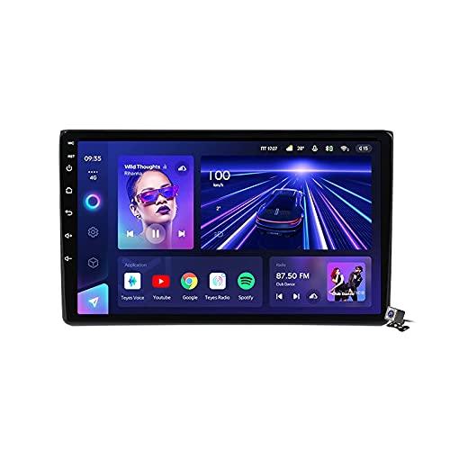 Estéreo de navegación para automóvil Android 10 con pantalla de 9 pulgadas para Audi A4 B6 2000-2009 Entretenimiento para automóvil Radio multimedia 4G 5G WiFi Soporte de Internet RDS DSP FM BT Carpl