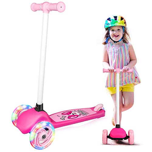 BELEEV Scooter for Kids Ages 3-5, 3 Wheel Kick Scooter for Toddlers...