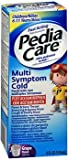 PediaCare Children's Multi-Symptom Cold, Grape, 4 Ounces Each (5)