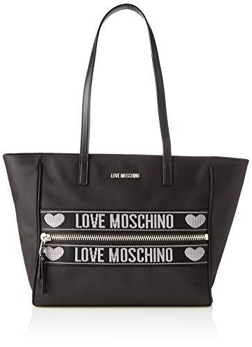 Love Moschino Damen Jc4275pp0a Tote, Schwarz (Black), 12x27x40 Centimeters